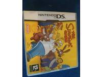 Nintendo Ds the Simpson game
