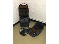 Bugaboo Cameleon 2 with Carrycot and rain cover