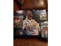 Brand new, unopened PS4 Fifa 18 Gran Turismo sport Knowledge is power