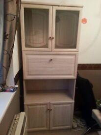 Bureau in light wood