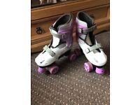 Girls skates 2-4
