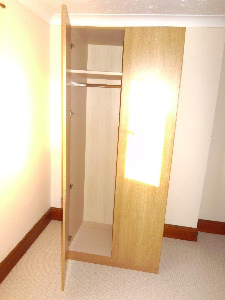 Double Light Oak Wardrobe