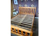 Double bed - Solid Timber frame