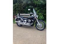 Yamaha XVS650 Dragster Cruiser Harley