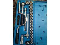 Rs chrome socket set for sale