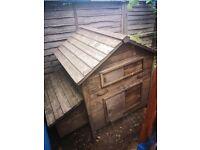 Wooden chicken coop for sale