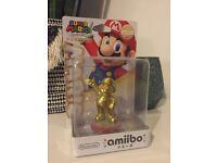 Limited Edition Gold Mario Amiibo