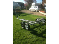 Dinghy Combi Trailer and Launch Trolley - Recent Full Service