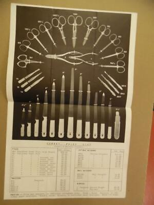 1939 Herbst Brothers Manicure Implements Nail File Scissors Catalog Vintage -