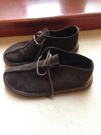Clarks Desert Treks Brown Suede - UK SIZE 9.5