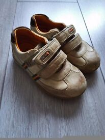 Size 6F Boys Clarkes Shoes