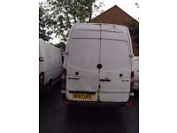 MERCEDES SPRINTER LWB WITH MOT. NO VAT