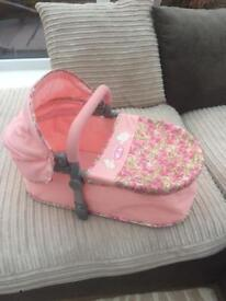 Baby Annabelle carry cot pram bed excellent condition