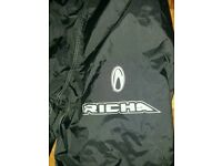 RICHA MOTORCYCLE waterproof trousers size m