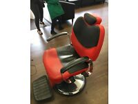 3 X barber chairs