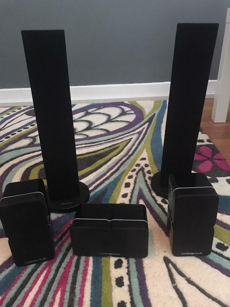 Set of surround speakers (Cambridge audio/pioneer)