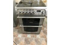 Cannon electric oven with gas hob