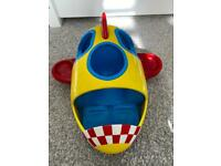 Peppa pig weebles wobbly rocket