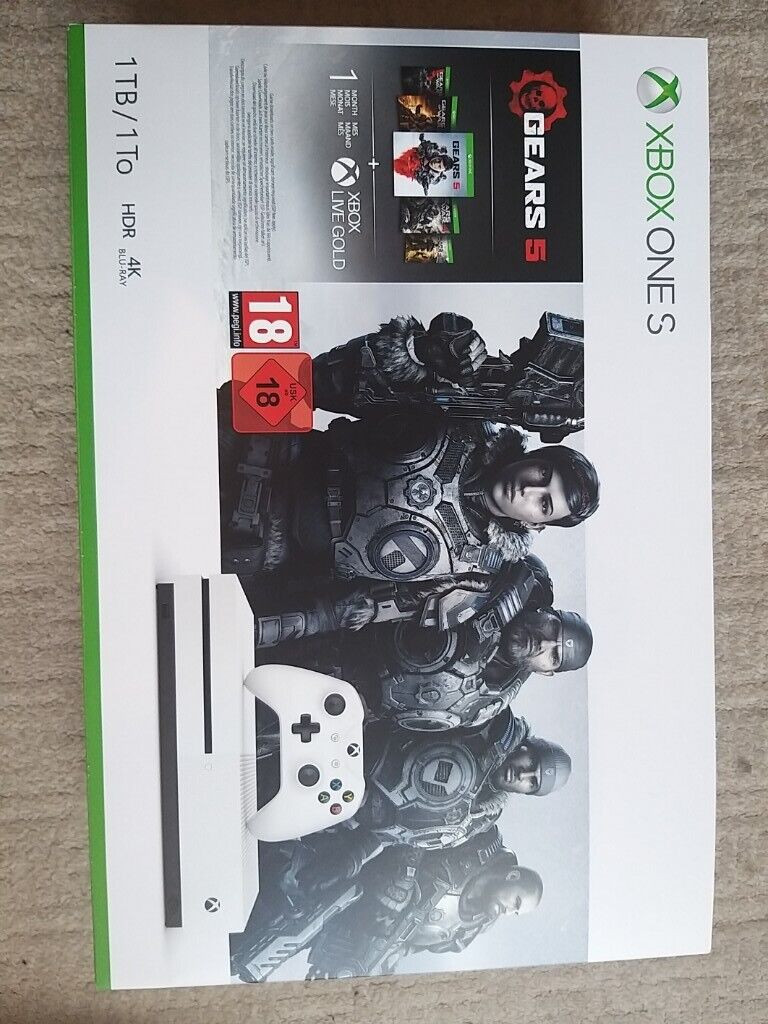 Xbox One S 1TB Console & Gears 5 Bundle | in Rusholme, Manchester | Gumtree