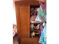 Babies r us solid oak nursery set