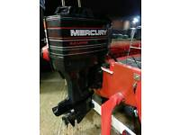 1997 Mercury 135 HP V6 Outboard in great condition for RIB / Boat. Fully serviced, Low Hours