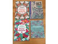 Unused Colouring Books - Arts and Crafts, Hobby - Good gift / Summer Holiday Activity