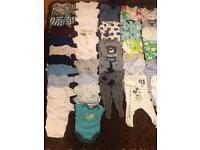 0-3 months boys clothes bundle