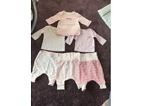 Baby girls next clothing bundle - up to 1 month