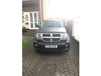 Matte Black Dodge Nitro, US import professionally wrapped, a real head turner
