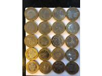 £2 coin collection