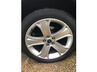 "Range Rover sport 20"" alloys, VW T5, 5x120"