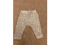 3-6 months baby boy trousers