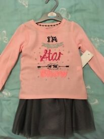 Girls top + tutu set