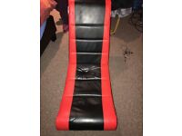 Gaming Chair black & red