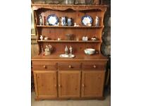 Large Pine farmhouse kitchen style Welsh dresser