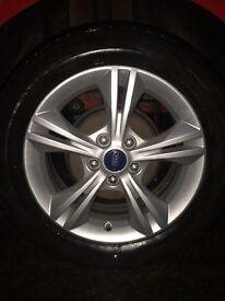 Ford Focus Zetec Alloy & Tyres