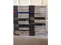 PS2 GAMES X 45+. Job lot. Rare. PS3 ps1 game console