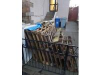 Wood Pallets to be uplifted from Drive