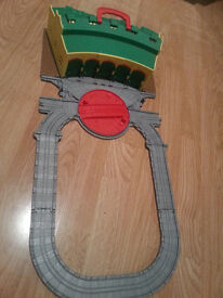 Thomas the tank engine for die cast models various tracks buildings sheds Tidmouth