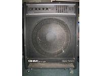 OHM GA-140 Base Amp