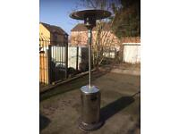 (SOLD) Outside Gas Heater (including gas cylinder)