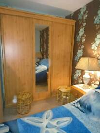 Vancouver 3 door sliding wardrobe with mirror!