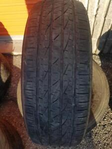 2 PNEUS ETE - FIRESTONE 225 65 17 - 2 SUMMER TIRES