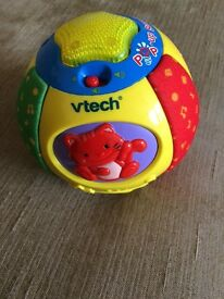VTech pop up surprise ball and other items