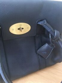 Mulberry style navy bag. New with dustbag.