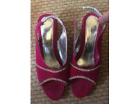 Young girls Party shoes size 3