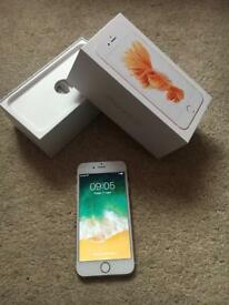 iPhone 6s 16gb Rose Gold EE with box