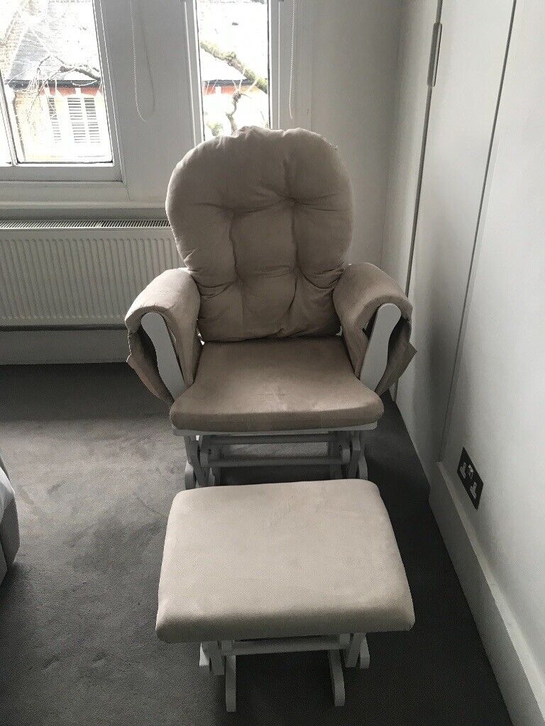 Astonishing Kub Haywood Reclining Nursing Glider Chair And Stool In Lewisham London Gumtree Cjindustries Chair Design For Home Cjindustriesco
