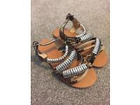 Ladies Uk size 3 sandals