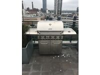 Grandhall Profesional 5 burner steel BBQ barbecue